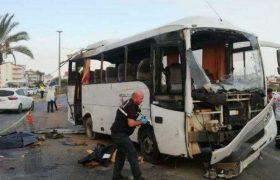 თურქეთში რუსი ტურისტებით სავსე ავტობუსი ამობრუნდა