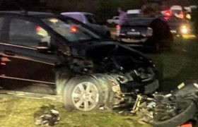 წალენჯიხაში მანქანა მოტოციკლს დაეჯახა - 1 ადამიანი დაიღუპა